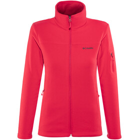 Columbia Fast Trek II Jacket Women red